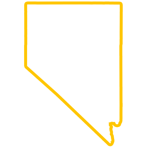 Nevada Outline Custom Patches